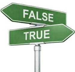ARE YOU TRUE OR FALSE? CHECK YOURSELF